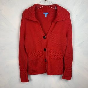 Escada Sport Cardigan Sweater with Collar